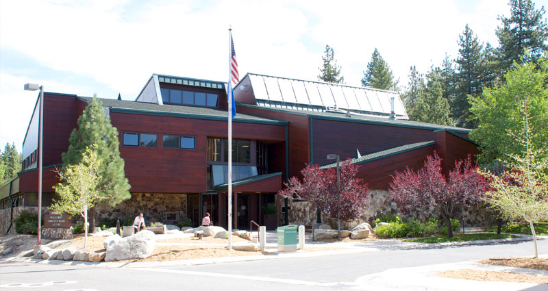 Tahoe Justice Court Building in Douglas County Nevada