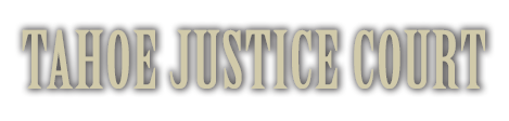 Tahoe Justice Court Logo